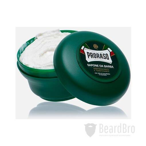 Мыло для бритья Proraso Shaving Soap Jar Refresh Eucalyptus