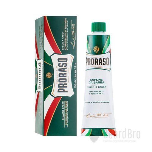 Набор для бритья Proraso Green Proraso Vintage Selection Gino Gift Set