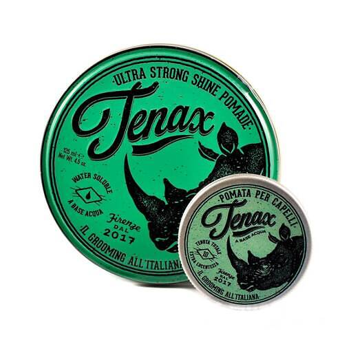 Помада с экстрасильной фиксацией Tenax Hair Pomade Extra Strong Hold