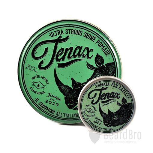 Помада с экстрасильной фиксацией Tenax Hair Pomade Extra Strong Hold - 125 мл