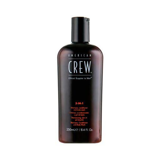 American Crew Classic 3-in-1 Shampoo, Conditioner&Body Wash