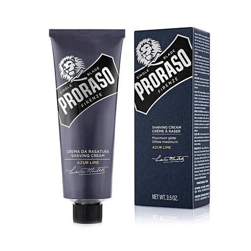 PRORASO-Shaving-Cream-in-Tube-Single-Blade-Azur-Lime-100-ml-2